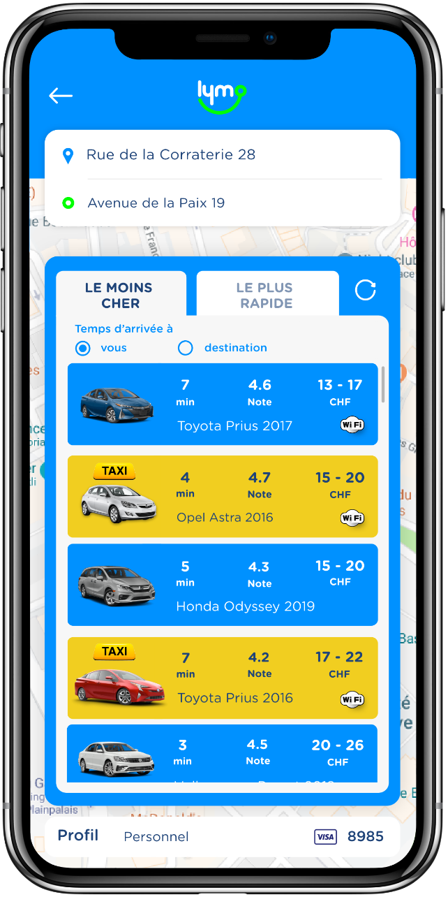 Lymo - The Ride-Hailing Marketplace - Coming Soon